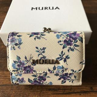 ムルーア(MURUA)のMURUAの3つ折り財布(財布)