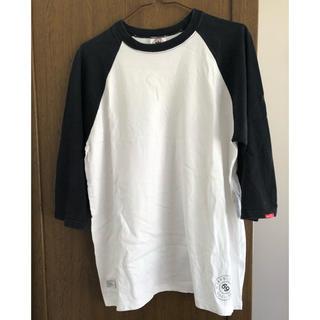 ダブルタップス(W)taps)のWTAPS 七分袖Tシャツ サイズ L(Tシャツ(長袖/七分))