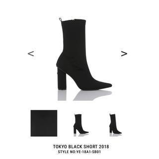 イエローブーツ(Yellow boots)のTOKYO BLACK SHORT 2018  Lサイズ(ブーツ)