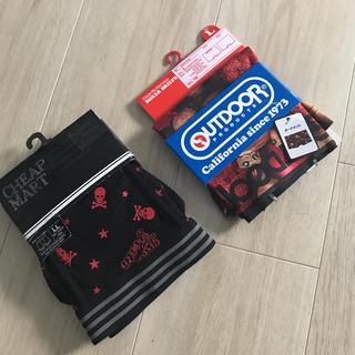 OUTDOOR - 【平日のみお値下げ】新品 タグ付き ボクサーパンツ2マイセット