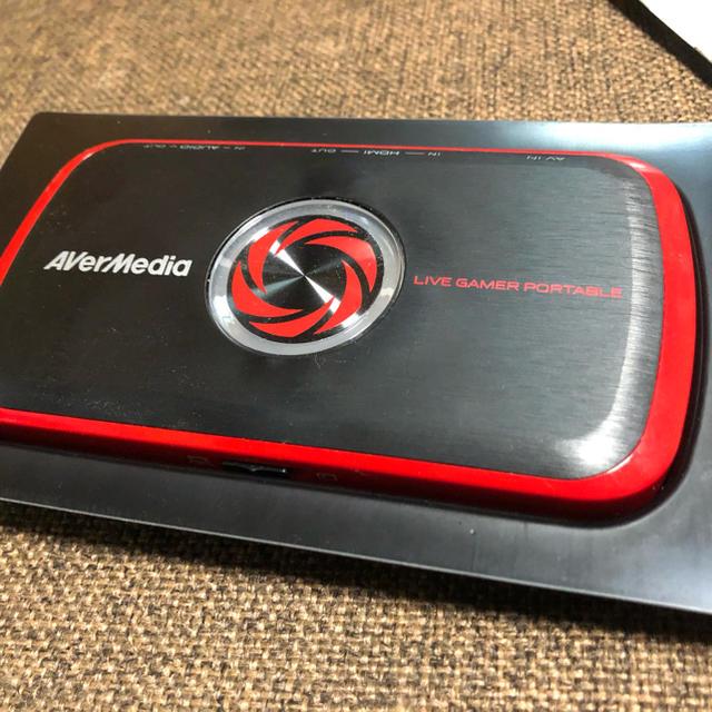 PlayStation(プレイステーション)のAvermedia AVT-c875 キャプチャーボード 美品 スマホ/家電/カメラのPC/タブレット(PC周辺機器)の商品写真