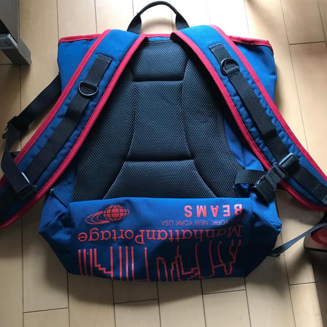 Manhattan Portage(マンハッタンポーテージ)のマンハッタンポーテージ  ✖︎BEAMSコラボ メンズのバッグ(バッグパック/リュック)の商品写真
