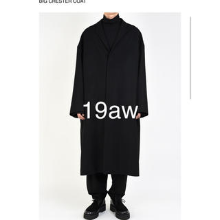 ラッドミュージシャン(LAD MUSICIAN)の19aw BIG CHESTER COAT 4244 新品(チェスターコート)