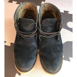 レッドウィング(REDWING)のレッドウィング スエード ブーツ 3142 9.5 ブラック(ブーツ)