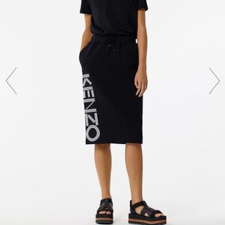 ケンゾー(KENZO)のスウェットスカート(ひざ丈スカート)