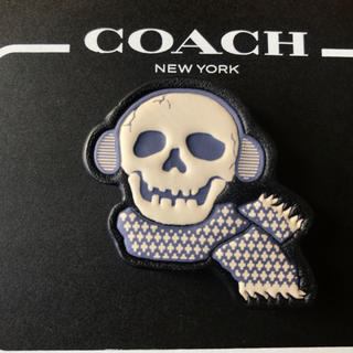 コーチ(COACH)のコーチ COACH ピンバッジ どくろ(バッジ/ピンバッジ)