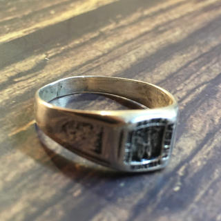 SILVER925 ホンダリングシルバー925リング22号指輪 ぢは4(リング(指輪))