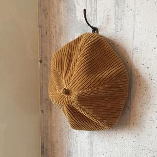 BEAUTY&YOUTH UNITED ARROWS - 昨年購入 コーデュロイ ベレー帽 イエローブラウン
