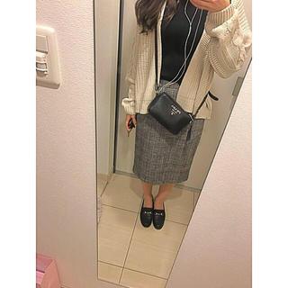 サンタモニカ(Santa Monica)のグレンチェック タイトスカート(ひざ丈スカート)