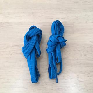 リーボック(Reebok)の靴紐 青色(その他)