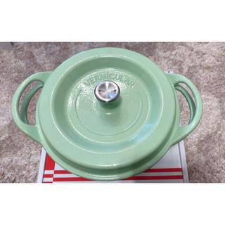 バーミキュラ(Vermicular)の13日まで値下げ✩新品未使用 バーミキュラ 22 (鍋/フライパン)