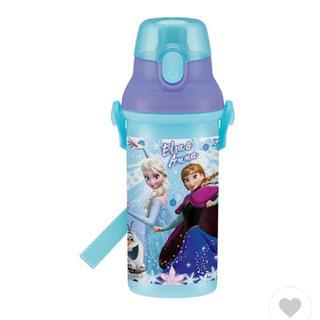 アナトユキノジョオウ(アナと雪の女王)のアナと雪の女王 食洗機対応 直飲みプラワンタッチボトル プラスチック(水筒)