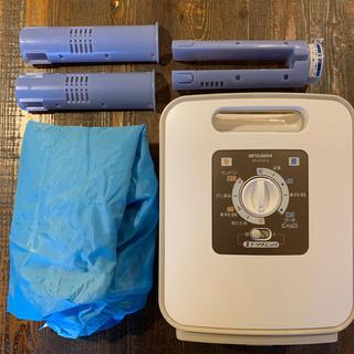 ミツビシ(三菱)の三菱 ふとん乾燥機 AD-S70LS-T(衣類乾燥機)