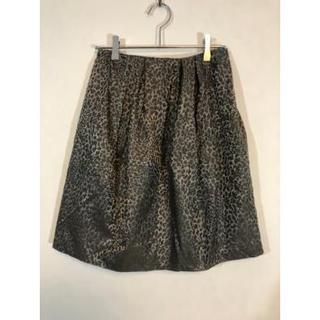 ルーニィ(LOUNIE)のルーニィ スカート グレー S(ひざ丈スカート)