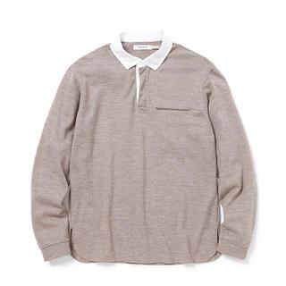 ノンネイティブ(nonnative)のnonnative rugger tee wool jersey 18aw 2(Tシャツ/カットソー(七分/長袖))