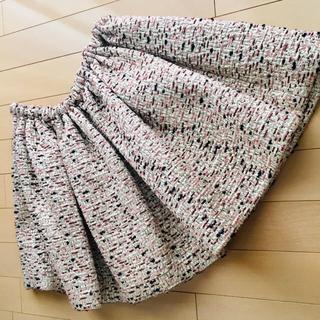 ミュウミュウ(miumiu)のmiumiuギャザースカート(ミニスカート)