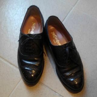 サンローラン(Saint Laurent)のYVES SAINT LAURENT ドレスシューズ(ローファー/革靴)