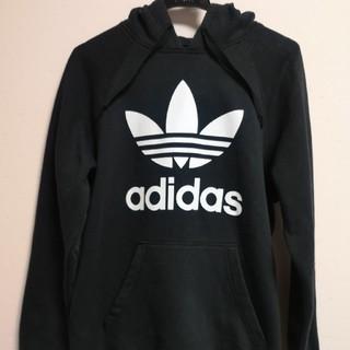 アディダス(adidas)のアディダス パーカー ブラック 黒(パーカー)