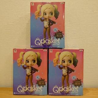 バンプレスト(BANPRESTO)のQposket ハーレイクイン フィギュア 3個 スーサイドスクワッド(アメコミ)