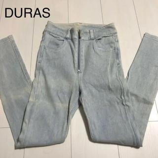 DURAS - DURAS ハイウエスト パンツ