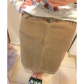 サンタモニカ(Santa Monica)のコーデュロイ スカート(ひざ丈スカート)