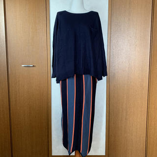 アンティカ(antiqua)のアンティカ   ストライプタイトスカート     ♡PRICE DOWN♡(ロングスカート)
