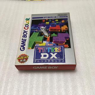 ゲームボーイ(ゲームボーイ)の任天堂 テトリスDX ゲームボーイカラー(家庭用ゲームソフト)