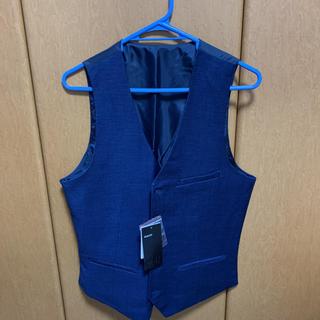 エイチアンドエム(H&M)のスーツベスト 紺色 EUR 44サイズ(日本でいうLサイズ)(スーツベスト)