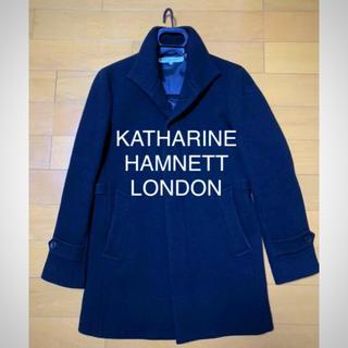 KATHARINE HAMNETT - キャサリンハムネット ステンカラーコート チェスターコート