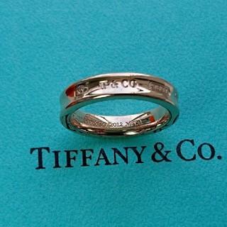 ティファニー(Tiffany & Co.)のティファニー  1837 ルベドメタル リング(リング(指輪))