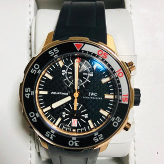 インターナショナルウォッチカンパニー(IWC)のgto1985様専用 iwcアクアタイマークロノグラフ(腕時計(アナログ))
