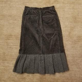 アンダーカバー(UNDERCOVER)のUNDERCOVER コーデュロイスカート(ひざ丈スカート)