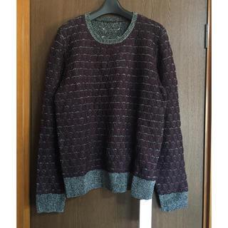 マルタンマルジェラ(Maison Martin Margiela)のL新品79%off メゾンマルジェラ リバーシブル ニット セーター メンズ(ニット/セーター)