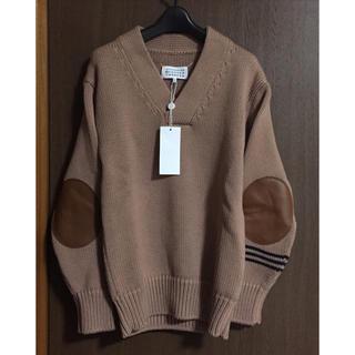 マルタンマルジェラ(Maison Martin Margiela)の新品71%of メゾンマルジェラ エルボーパッチ チャンキー ニット セーター(ニット/セーター)
