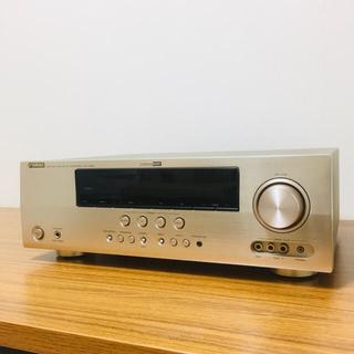 ヤマハ(ヤマハ)のYAMAHA ヤマハ  AX-V565 AVアンプ  7.1ch  ゴールド(アンプ)