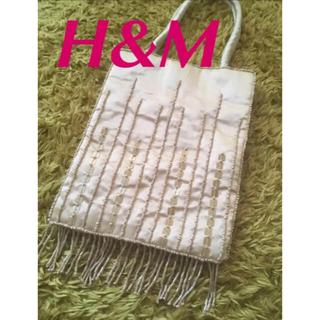 エイチアンドエム(H&M)のH&M ビーズ ミニ バッグ パーティーバッグ エイチアンドエム(ハンドバッグ)