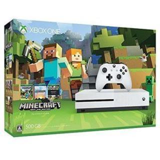 マイクロソフト(Microsoft)のXbox One S 500GB Minecraft (家庭用ゲーム機本体)