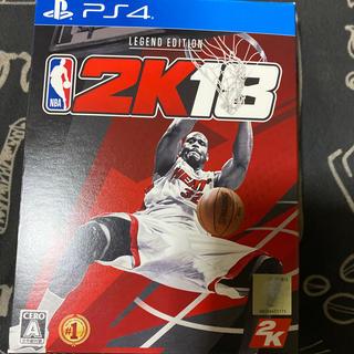 プレイステーション4(PlayStation4)のプレステ4  NBA 2k18バスケ(家庭用ゲームソフト)