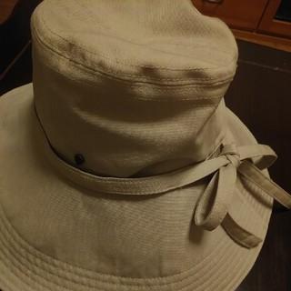 ヘレンカミンスキー(HELEN KAMINSKI)の【ヘレンカミンスキ】ライトグレー つばひろ帽子(ハット)