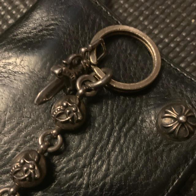 Chrome Hearts(クロムハーツ)のクロムハーツ ケルティックローラー キーリング ダガー メンズのファッション小物(キーホルダー)の商品写真