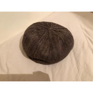 ユナイテッドアローズ(UNITED ARROWS)のセレクトショップ 美品! ミックス織ベレー帽(ハンチング/ベレー帽)