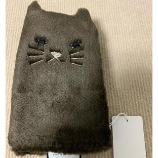 アンテプリマ(ANTEPRIMA)のアンテプリマ手袋(ブラウン/ネコ指無し)(手袋)