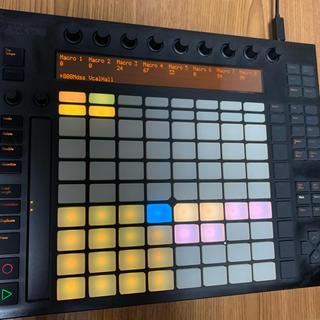 ableton push (MIDIコントローラー)