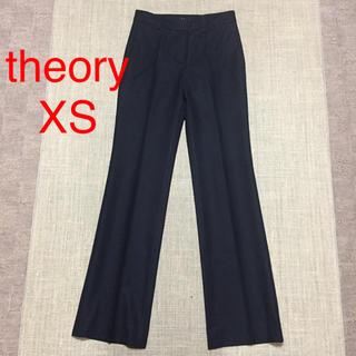 セオリー(theory)の♡セオリー♡ ストレッチ 美脚パンツ ブラック XS(カジュアルパンツ)