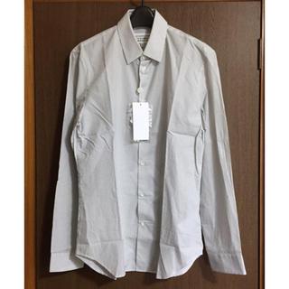 マルタンマルジェラ(Maison Martin Margiela)の40新品70%off メゾンマルジェラ 柄入り 長袖シャツ メンズ ホワイト(シャツ)