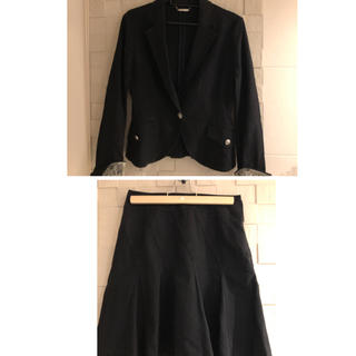 ミッシェルクラン(MICHEL KLEIN)のミッシェルクラウンのスカートスーツsize38(スーツ)