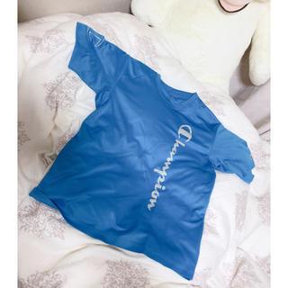 チャンピオン(Champion)のチャンピオン トレーニングシャツ トレーニングウェア ブルー(ウェア)