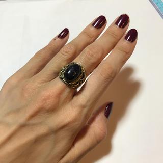 ブラック シルバー リング(リング(指輪))