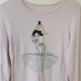 ジーユー(GU)のmaegami mami gu Tシャツ ブレスレット2個(Tシャツ(長袖/七分))