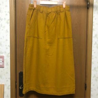 ノーザントラック(NORTHERN TRUCK)のノーザントラック スカート イエロー(ひざ丈スカート)
